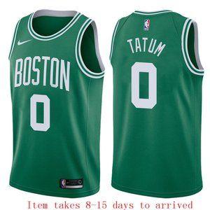 Boston Celtics Jayson Tatum Green Jersey